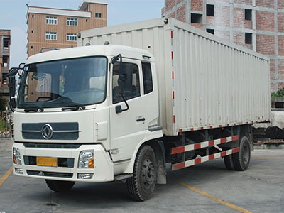 7.2米厢式货车